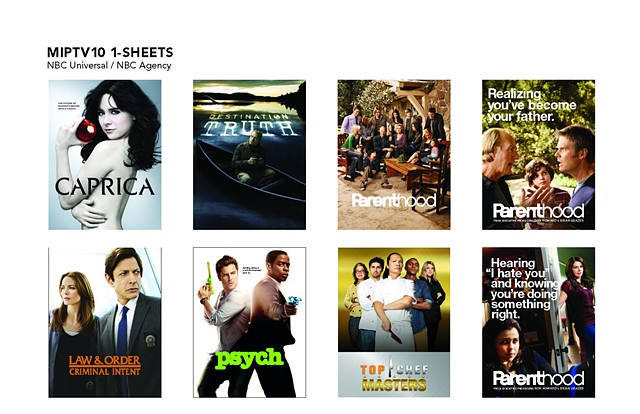 NBC Agency MIPTV10 1-Sheets