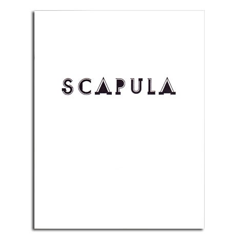 Scapula: Selected by Charline von Heyl (Corbett vs. Dempsey, 2014)