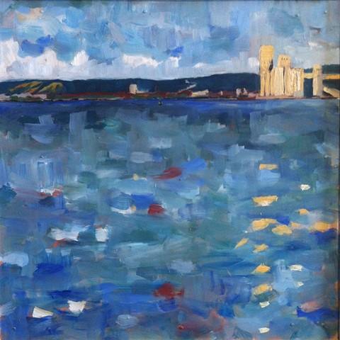 Duluth Harbor Buoy 1