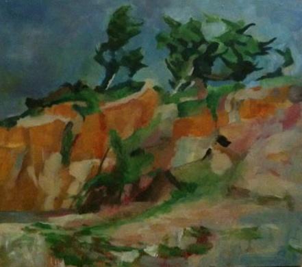Montara Beach Cliffs