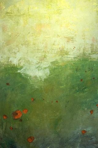 Poppies, Provence, Rain