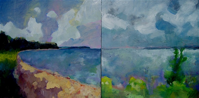 Amnicon Bay Diptych