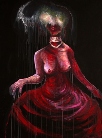 Rotting Queen (blood dress)