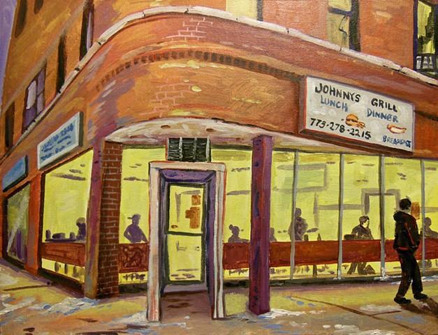 Johnny's Grill, Logan Square