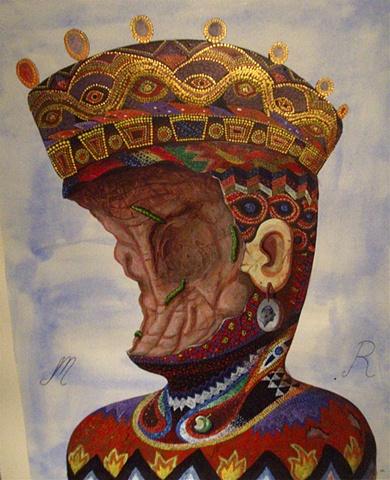 Byzantine Queen, Spoiled Fruit, Las Vegas Head