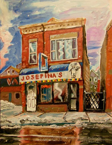 Josephina's Bakery, Pilsen. 30 degrees