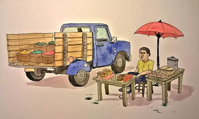 Street Vendor #1