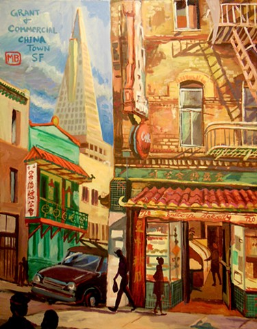 Grant and Commercial, Chinatown SF