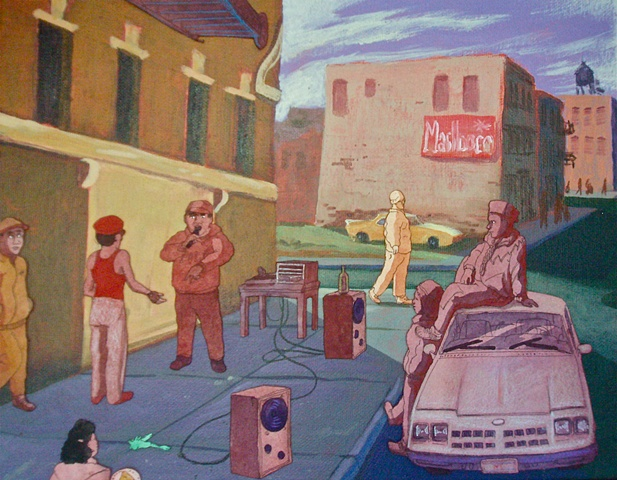 ca. 1988, Brooklyn, NYC