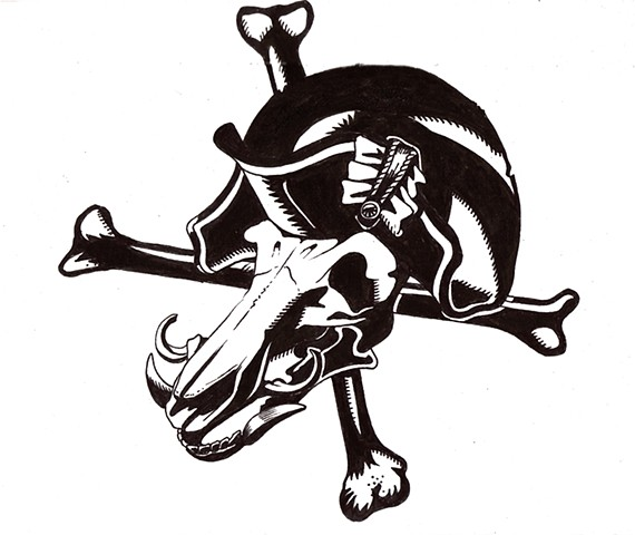 Pirate Nation BBQ logo