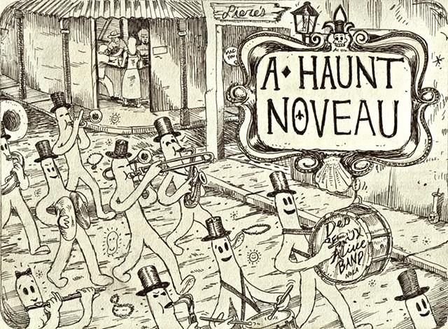 A Haunt Noveau