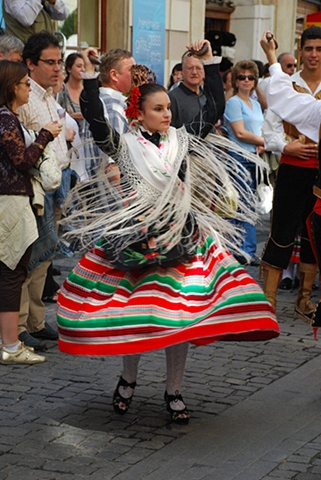 The Parade of Nations, Dancer