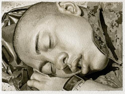 Sleeping Marine 2