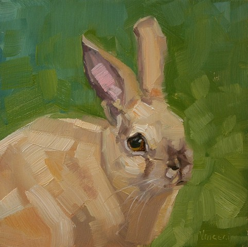 bunny rabbit painting