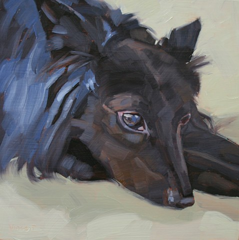 pet portrait, dog painting, dog art, canine painting, oil painting