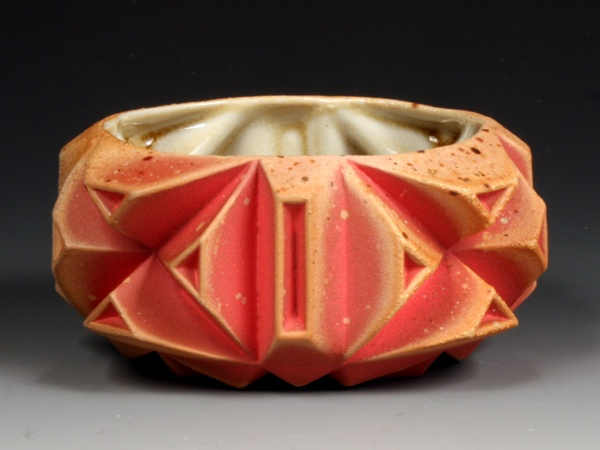 Pink Geome(tea)bowl