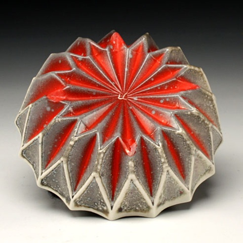 Small Red Bowl