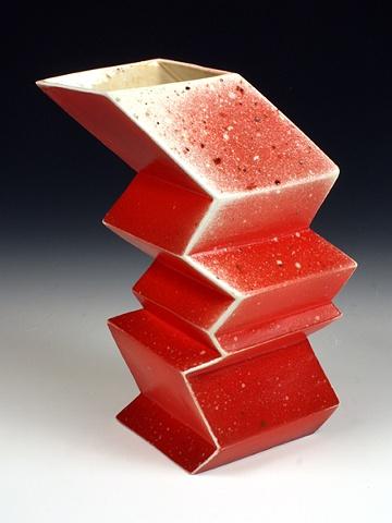Geometric Vaz Red