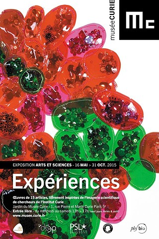 "Flyer for ""Experiences"" Exhibit"