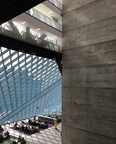 Seattle Public Library, OMA/LMN Architects