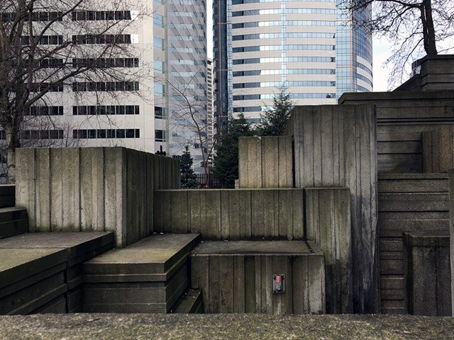 Freeway Park, Lawrence Halprin