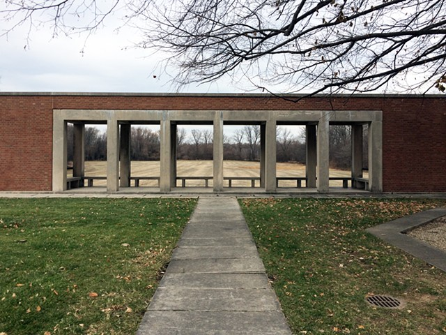 Roofless Church, Philip Johnson