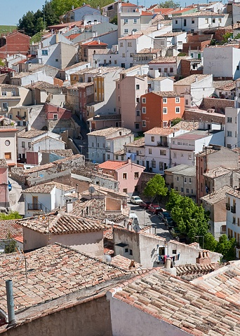 Overlooking the Newer Town, Cuenca Spain