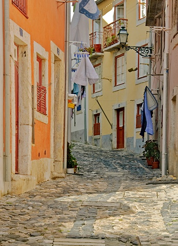 Laundry Day, Lisbon Portugal