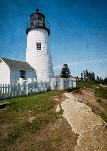 Pemaquid Point Lighthouse vertical #2