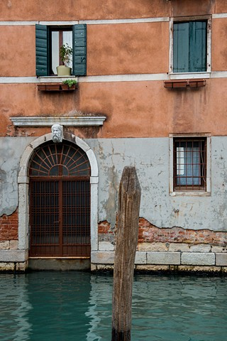 Typical Scene along the Venice canal