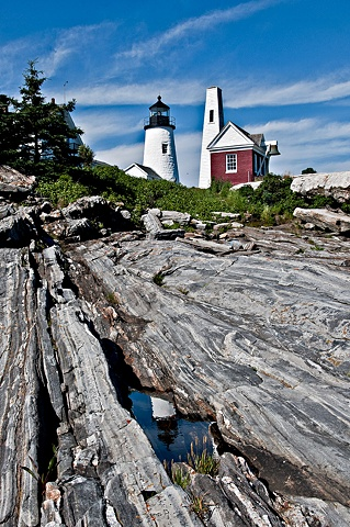 Lighthouse at Permaquid Point - Maine