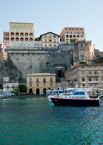 Fine Art Photograph of the harbour in Sorrento Italy