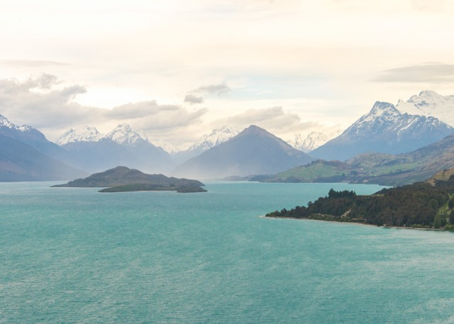 Scenic view on the way from Queenston to Glenorchy