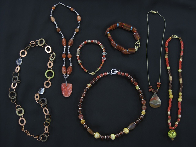 Set of Custom Jewelry by various participants