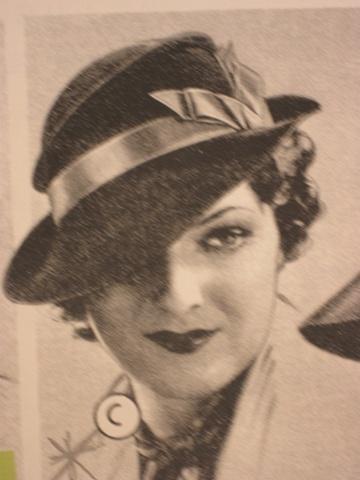 Image used for blocked felt hat- 2010