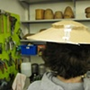 1950's Skimmer Hat- In Process