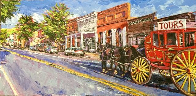 Virginia City, Montana, Main Street Montana, Vigilantes, Boot Hill, Gold rush, ghost town, opera house