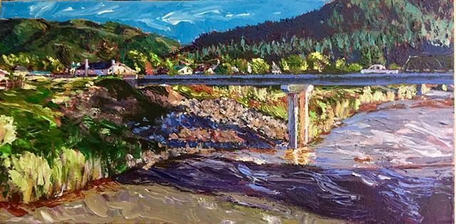 Milltown, Montana, paper mill, A River Runs Through It, Blackfoot River, Main Street Montana