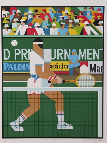 Tennis player © 1982