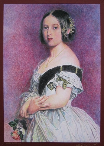 Portrait of Queen Victoria © 2007
