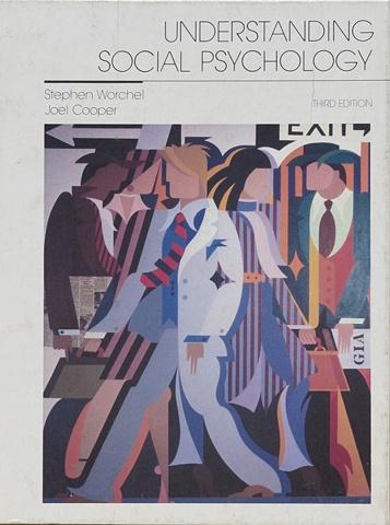 "Book Cover for ""Understanding Social Psychology"" © 1983"