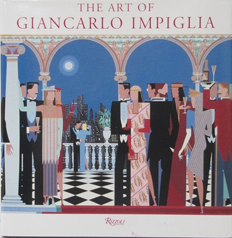 """Book Cover For """"The Art of Giancarlo Impiglia"""" © 1996"""