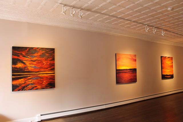 Illuminato, Solo Show at s.h.e. gallery, Boonton, NJ