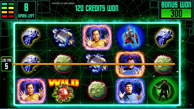 Star Trek: Trek Through Time Top screen bonus