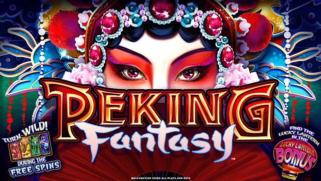 Peking Fantasy slot game title screen