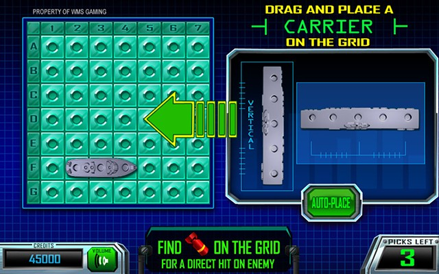 Battleship: Find and Conquer bonus Base screen