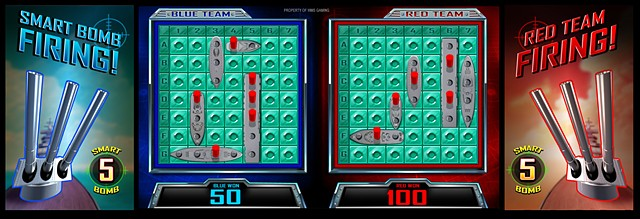 Battleship: Top screen Find and Conquer bonus