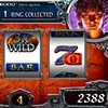 The Lord of the Rings-Land of Mordor, Free Spins screen