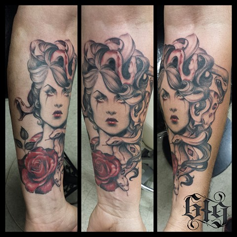 Tattoos by genghis for Tattoo shops in el cajon