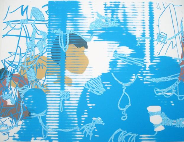 "David Rios Ferreira Lower East Side Printshop's Keyholder Residency Program and ""El Velorio"" by Puerto Rican Impressionist Francisco Oller"